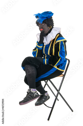 Dutch black pete thinking