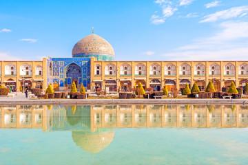 Sheikh Lotf Allah Mosque, Naqsh-e Jahan Square, Isfahan, Iran.
