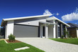 canvas print picture - Suburban Australian House
