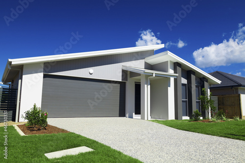 canvas print picture Suburban Australian House