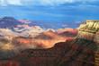 Grand Canyon sous les nuages