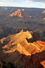 Vue plongeante sur le Grand Canyon, USA