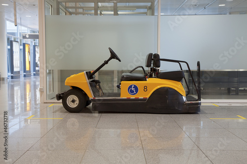 Disabled buggy in airport