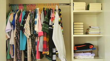 Storage rack.