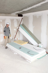 Man revamping house