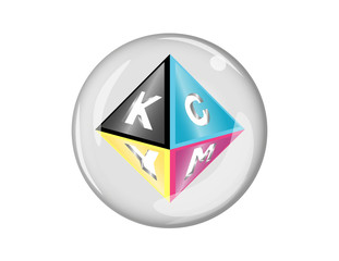 CMYK Button Inactive