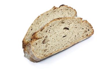 tranches de pain de campagne