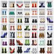 shoes on shelves - 46737779