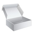 White Package Box Opened. For electronic device - 46738756