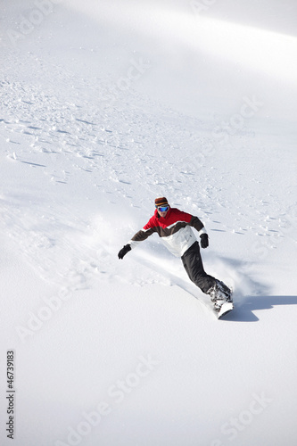 Fototapete Belle - Board - Beim Sport