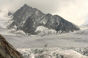 Glacier du Tour in French Alps