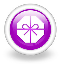"Violet Icon ""Present / Gift"""