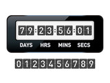 Mechanical countdown timer