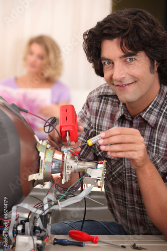 TV repair technician