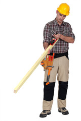 For a carpenter a plane is essential.