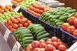 Frash fruit and vegetables