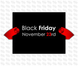 trendy black friday banner