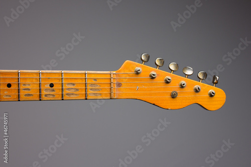 Vintage electric guitar neck