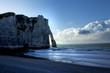 Falaise Etretat Normandie