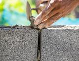 Fototapety Bricklayer
