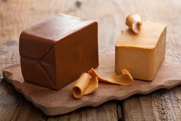Norwegian brunost cheese