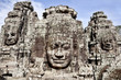 faces in the temples of angkor