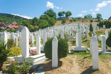 Muslim cemetery.