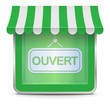 Icône Magasin Ouvert