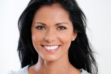 Happy smiling beautiful woman