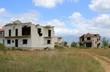 Zerschossenes Haus in Kroatien