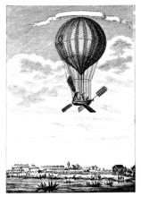 Aerostat - end 18th century