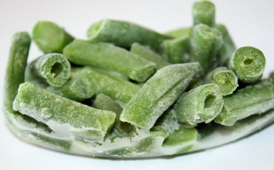Frozen Green Beans - individual portion, ready for heating