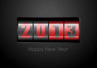 Happy New Year Counter 2013