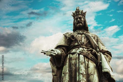 Charles IV statue