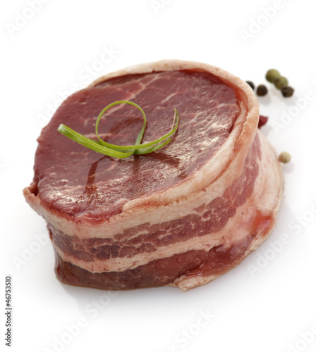 Bacon Wrapped Beef Fillet