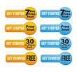 get started - free trial button