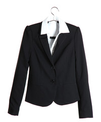 Women's black classic jacket