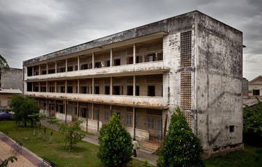 S21. Jail during the dictatorship of Pol Pot