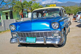 Classic Chevrolet on January 20,2010 in Santiago de Cuba.