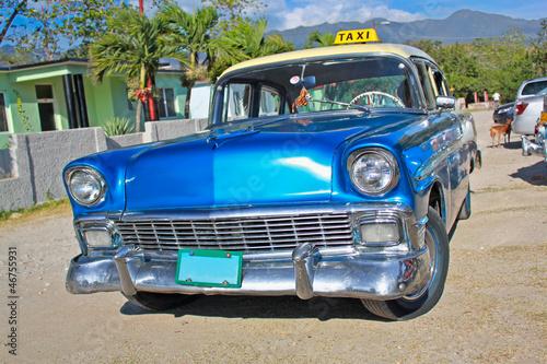 Classic Chevrolet on January 20,2010 in Santiago de Cuba.