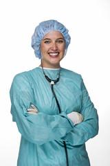 OP Arzt mit Schutzkleidung