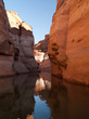Reflets sur le lac powell-Antelope canyon