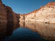 Reflet sur le Lac powell-antelope canyon