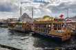 Leinwandbild Motiv Blick auf Istanbul.