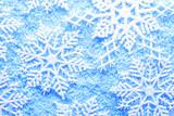 Fototapety Snowflake in snow