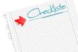 Zettel Checkliste