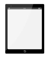 Vektor Tablet schwarz