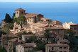 canvas print picture - Deia Village Mallorca