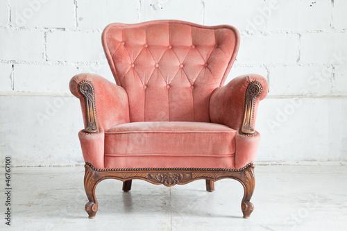 Pink Armchair sofa - 46767108
