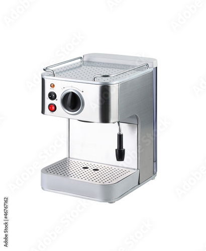 Coffee blending machine tool isolated on white